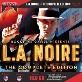 L.a Noire Complete Edition Ps3 - Codigo Psn - Envio Imediato