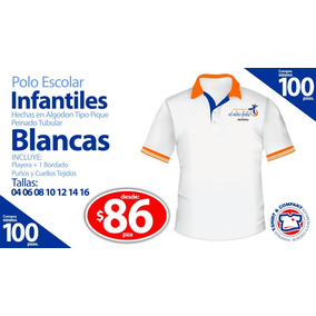 Playera Camello Polo Infantil Juvenil Uniforme Escolar 6-18. 133 vendidos -  Distrito Federal · Playera Polo Infantil Escolar f19652f3a05e8