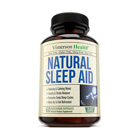Pastillas Ayuda Para Dormir Natural - Con La Valeriana, Mela