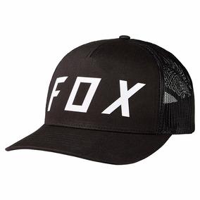 Gorra Fox Racing Moth Trucker Dama Negro Unitalla
