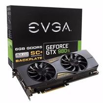 Placa De Video Evga Geforce Gtx 980 Ti 6gb Cooling Envio Sc