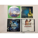Dvd Ratatoulle, Shrek, Max Steel Y Tequila Caza C/u $35