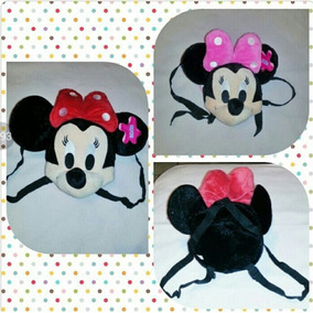 Bolso Tipo Morral Minnie Mouse