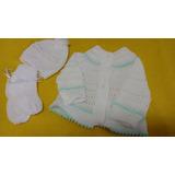 Casaco De Tricô Para Bebês Recem-nascido