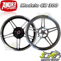 Rodas Dianteira Traseira Mod Cb300 Factor 125 09/.. F Disco