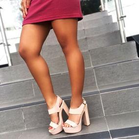 Sandalias Zapato Plataforma Tacon Sv May De Dama