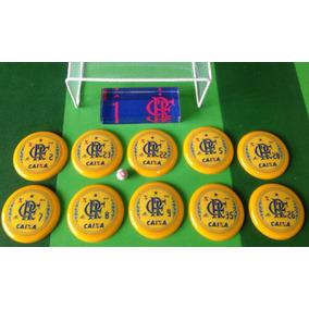 6 Times De Futebol De Botão A Escolha + Maleta Personalizada