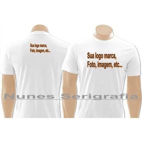 Kit 10 Camisas Camiseta Blusa Personalizada Logo Marca Foto
