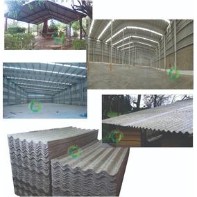 Lamina Acanalada Teja Techo Polialuminio Costo Metro Cuadrad