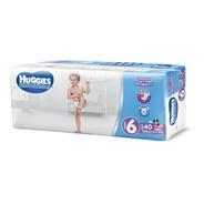 Pañales Huggies Ultraconfort 40 Piezas Etapa 6