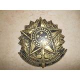 Brasão Da Republica De Bronze Maciço