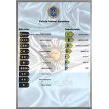 Pósters Insignias De Grado - Policía Federal Argentina.
