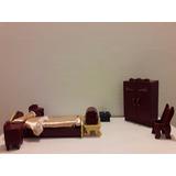 Juguete Miniatura - Dormitorio Exclusivo.