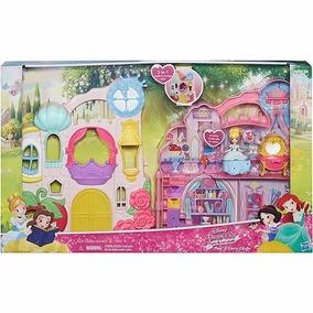 Boneca E Cenário Play Carry Castle Princesas Disney Hasbro