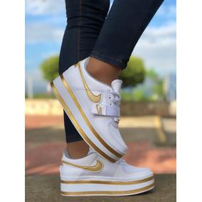 227efb1f5bad6 Dama Plataforma Mujer Para Tenis Nike Con Blanco a7qPUP