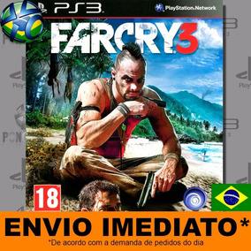 Far Cry 3 Jogo Ps3 Legendas Em Português Envio Agora