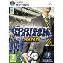 Jogo Para Pc Futebol Manager 2010 Original Lacrado