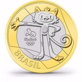 Sachê Moedas Das Olimpíadas 2016 4º Lote Mascote Vinicius