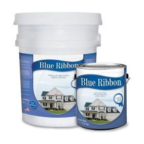 Pintura Satinada 1 Cubeta 100% Latex Blue Ribbon Durango
