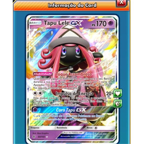 Tapu Lele Gx #145 (carta Do Pokémon Tcg Online)