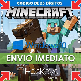 Minecraft Para Windows 10 - Pc Cod Key - Completo Original