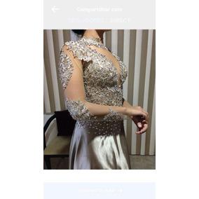 Vestido De Festa Luxuoso Da Mais Alta Costura