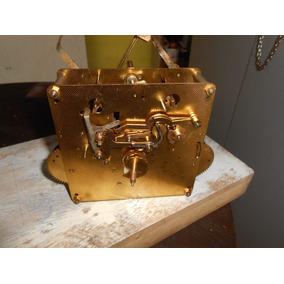 Maquina De Relógio Antigo Hall Supple Company P/restauro