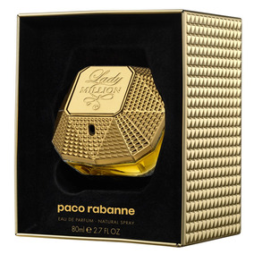 Lady Million Edp Collectors Edition Paco Rabanne 80ml