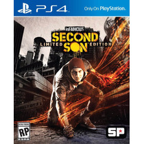Infamous Second Son Original 2 Ps4 Psn