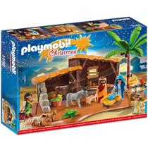 Playmobil 5588 Belén Con Establo Serie Navidad Nacimiento