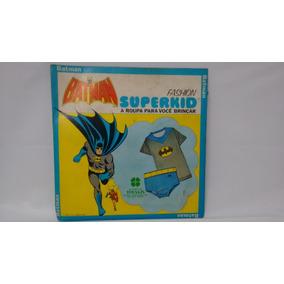 Fantasia Infantil, Rara Roupa Do Batman Tecada De 70