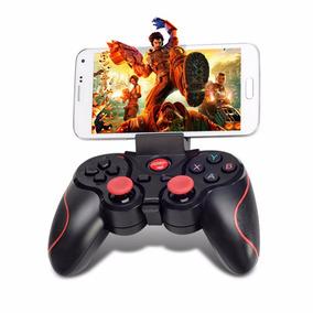 Mando Joystick Bluetooth Android Ios Recargable + Sujetador
