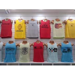 Camisetas Regatas Masculinas Malha Kit Com 5 Varia Marcas be5259cb032