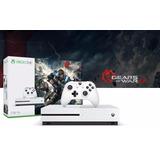Consola Xbox One S 1tb Gears Of War 4 Bundle + 12 Msi
