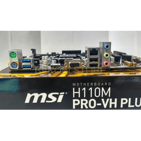 Mother Msi H110m Pro-vh Plus S1151 Vga/hdmi 6ta Y 7ma Gen