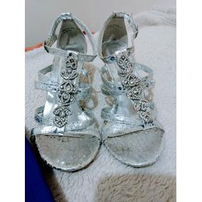 f965a06b18154 Zapatos Plateados - Ropa y Accesorios en Mercado Libre Perú