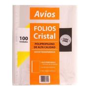 Folios Borde Blanco Stendy A4 1º Calidad Pack X100