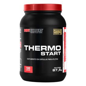 Termogenico Start 100 Cápsulas - Bodybuilders