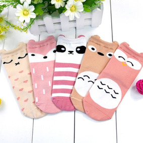 Calcetas Kawaii Niña Calcetines Moda Japonesa