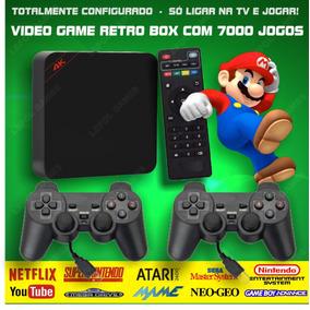 Video Game Retro Box - Multijogos 7000 Jogos Antigos +64gb