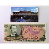 Billete $ 5 Colones De Costa Rica Sin Circular