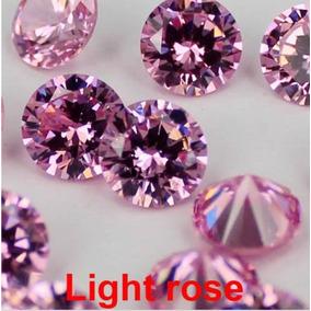 Brillantes (par) De Laboratorio Color Rosa Calidad Unicos!