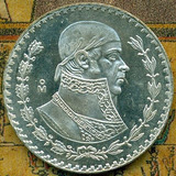 Moneda De 1 Peso 1958