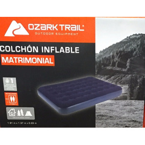 Colchón Inflable Matrimonial Ozark Trail Camping