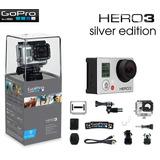 Go Pro Hero 3 Silver Edition Barata!!! Solo Se Abrio La Caja