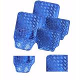 Jogo Tapete Vw Voyage Comfortline Azul Aluminio Metalico Tun