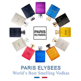 Kit Com 3 Perfumes Paris Elysees 100 Ml-original E Lacrado