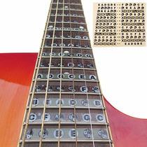 Kit Adesivos Notas Braço Violão Guitarra Mapa Iniciantes