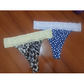 Bikinis Pantys Hilos Ropa Interior Femenina Talla L