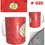 Taza Comics Coleccionables Barry Allenflash #035
